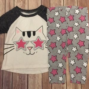 2T Wonder Nation Kitty Star Outfit